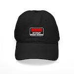 Scott Designs Beware of Crazy Women Black Cap