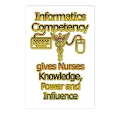 Informatics Competency Postcards (Package of 8)