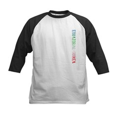 Eq. Guinea Kids Baseball Jersey