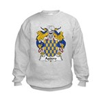 Aguero Family Crest Kids Sweatshirt