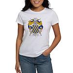 Aguero Family Crest Women's T-Shirt