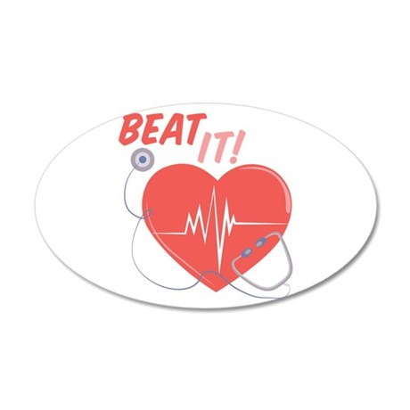 Beat It Wall Decal