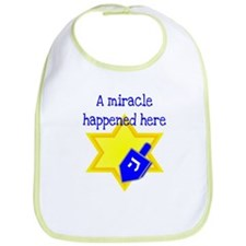 A Miracle Happened Here Bib