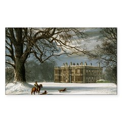 Howsham Hall Rectangle Sticker