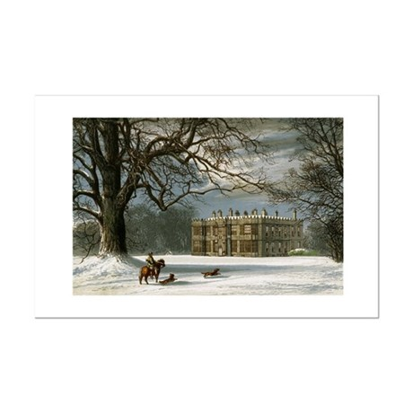Howsham Hall Mini Poster Print