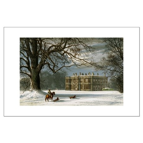 Howsham Hall Large Poster