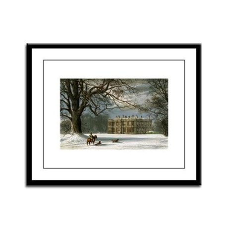 Howsham Hall Framed Panel Print
