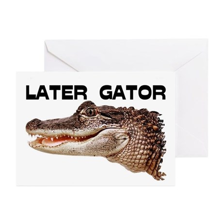 GATOR Greeting Cards (Pk of 20)