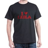 I LOVE LEILA T-Shirt