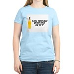 I Only Drink On Days Women's Light T-Shirt