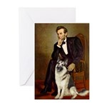 Lincoln's German Shepherd Greeting Cards (Pk of 20
