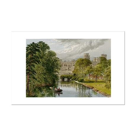 Warwick Castle Mini Poster Print