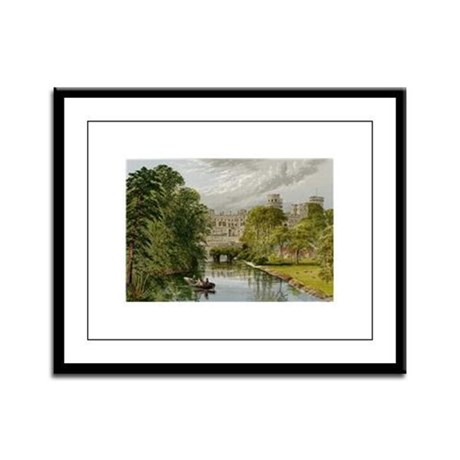 Warwick Castle Framed Panel Print