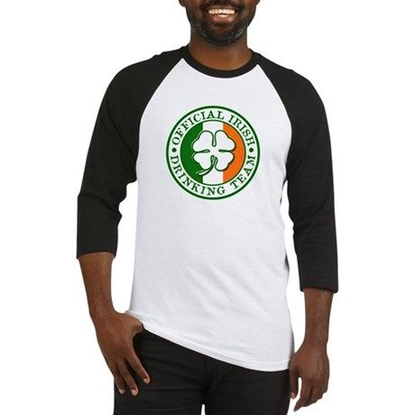 Official Irish Drinking Team Baseball Jersey