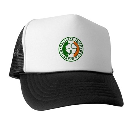 Official Irish Drinking Team Trucker Hat