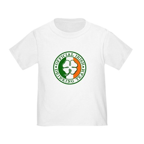 Official Irish Drinking Team Toddler T-Shir