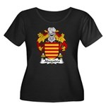 Abogadro Family Crest Women's Plus Size Scoop Neck