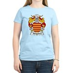 Abogadro Family Crest Women's Light T-Shirt
