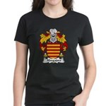 Abogadro Family Crest Women's Dark T-Shirt