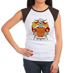 Abogadro Family Crest Women's Cap Sleeve T-Shirt
