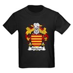 Abogadro Family Crest Kids Dark T-Shirt