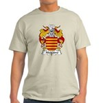 Abogadro Family Crest Light T-Shirt