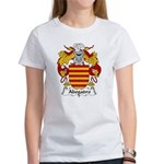 Abogadro Family Crest Women's T-Shirt