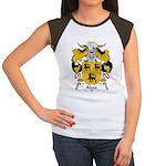 Aboa Family Crest Women's Cap Sleeve T-Shirt