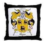 Aboa Family Crest Throw Pillow