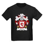Abinia Family Crest Kids Dark T-Shirt