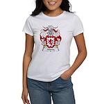Abinia Family Crest Women's T-Shirt
