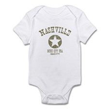 Nashville Since 1779 D4 Infant Bodysuit
