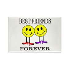 BFF BEST FRIENDS FOREVER Rectangle Magnet (100 pac