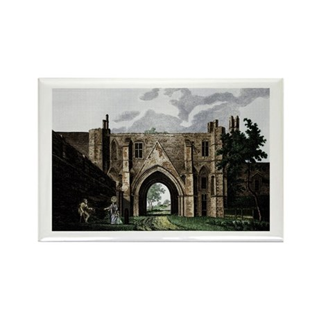 Reading Abbey Rectangle Magnet