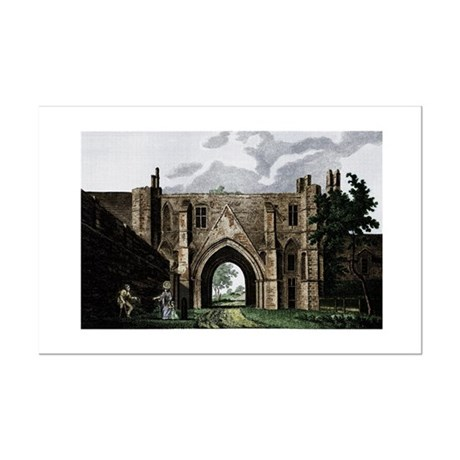 Reading Abbey Mini Poster Print