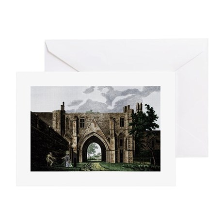 Reading Abbey Greeting Card