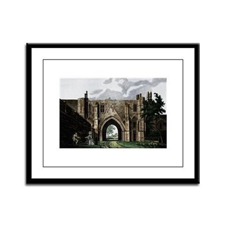 Reading Abbey Framed Panel Print