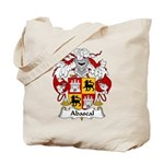 Abascal Family Crest Tote Bag