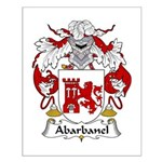 Abarbanel Family Crest Small Poster