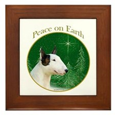 Mini Bull Peace Framed Tile