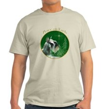 Mini Schnauzer Peace T-Shirt