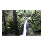 northern california watefalls postcards (10 pack)