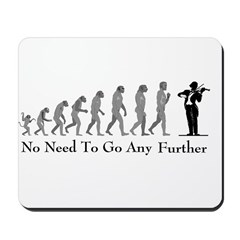 Violinist Mousepad -- Evolution
