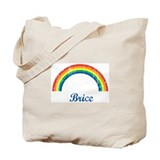 Brice vintage rainbow Tote Bag