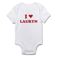 I LOVE LAURYN Onesie