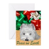 Westie greeting cards Greeting Cards (10 Pack)