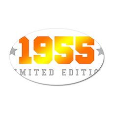 Limited Edition 1955 Birthday Wall Sticker