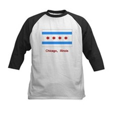 Chicago IL Flag Tee