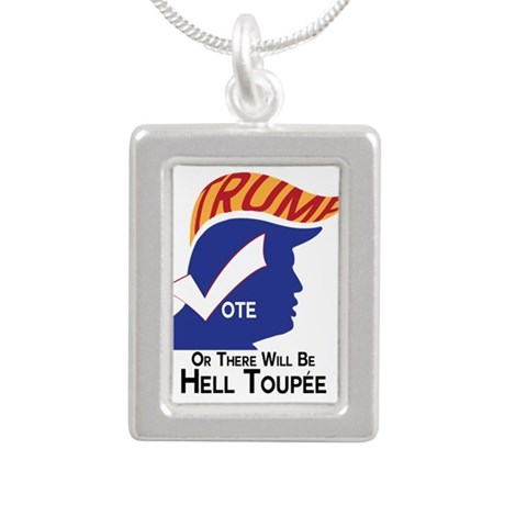 Vote Trump Hell Toupee Necklaces