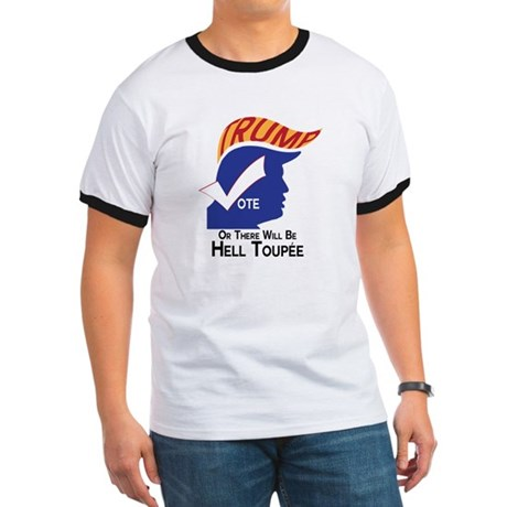 Vote Trump Hell Toupee T-Shirt